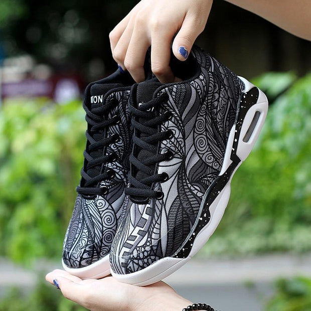 Women Air Cushion Basketball Shoes Running Tennis Shoes Fashion Sneaker