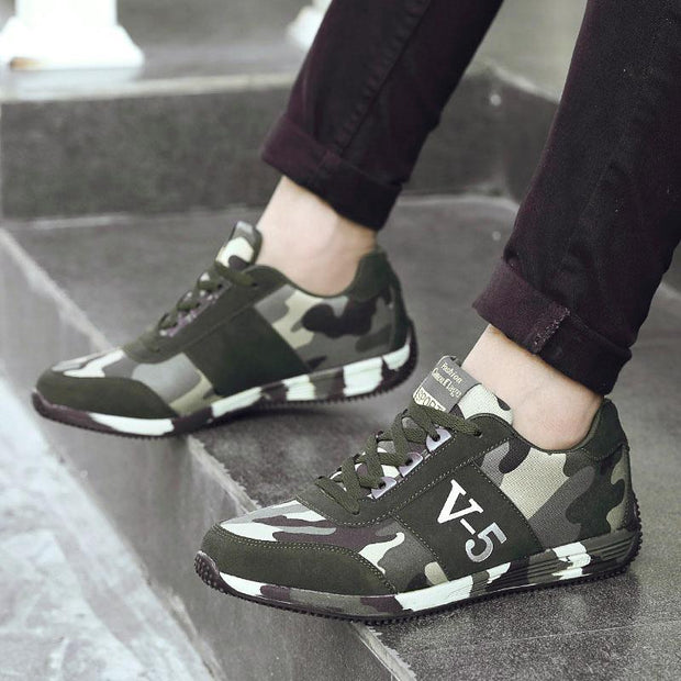 Women's Trend Camouflage Non-slip Shock Absorption Sneakers