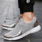 Men  Loafers Breathable Flat Shoes Soft Running Shoes Gym Shoes