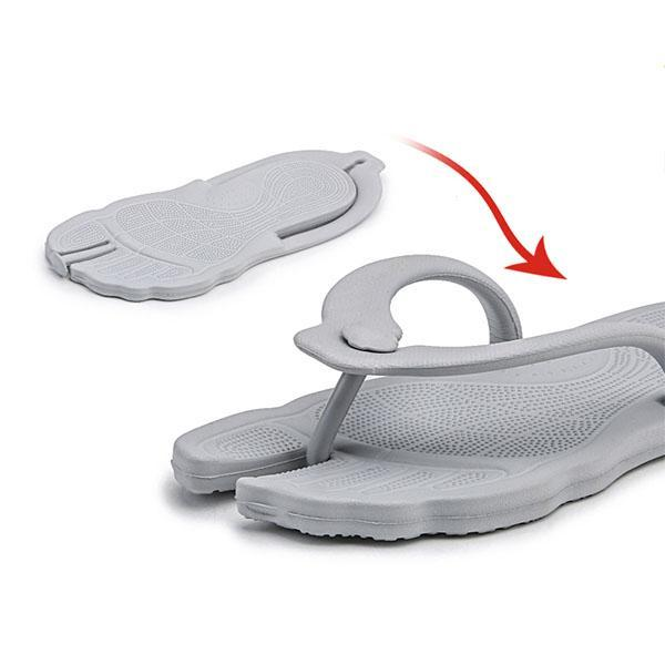 Women's Soft Portable Round-Toe Slippers