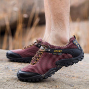 Men's Fashion Hiking Shoes Net Cloth Sports Shoes