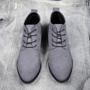 Martin winter boots male high for men's shoes against England boots frosted leather boots 124064