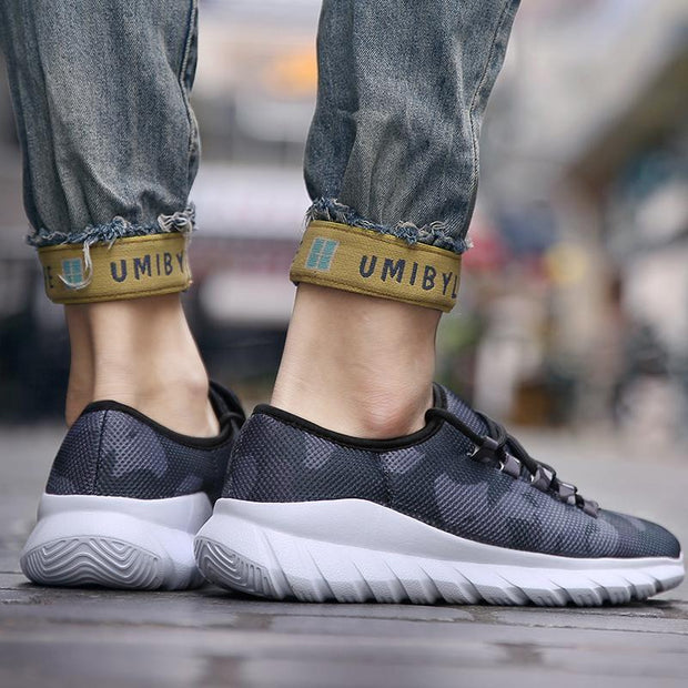 Men Running Shoes Fashion Sneakers Sport Cool Mesh Breathable Trainer Shoes