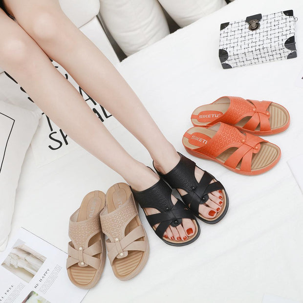 Women New Sandals Casual Pregnant Women Slippers