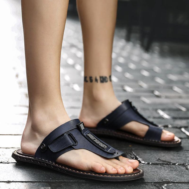 Others Sandals Slippers Shoes- Men Soft Micro Fiber -5405