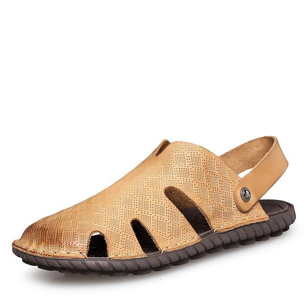 Men's casual trend outdoor wear-resistant flat sandals 125694