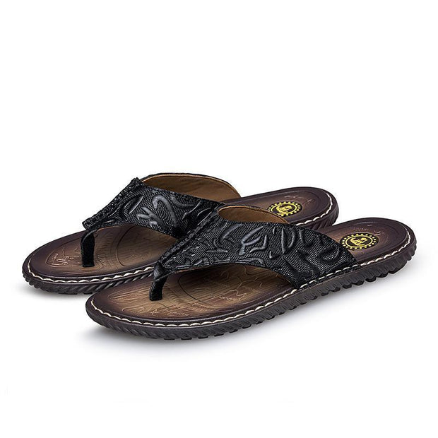 Men's casual trend Daily flat with breathable slippers 126103