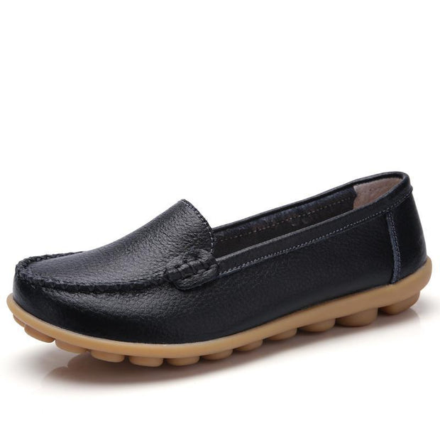 Women's Korean version of simple breathable leisure loafer shoes