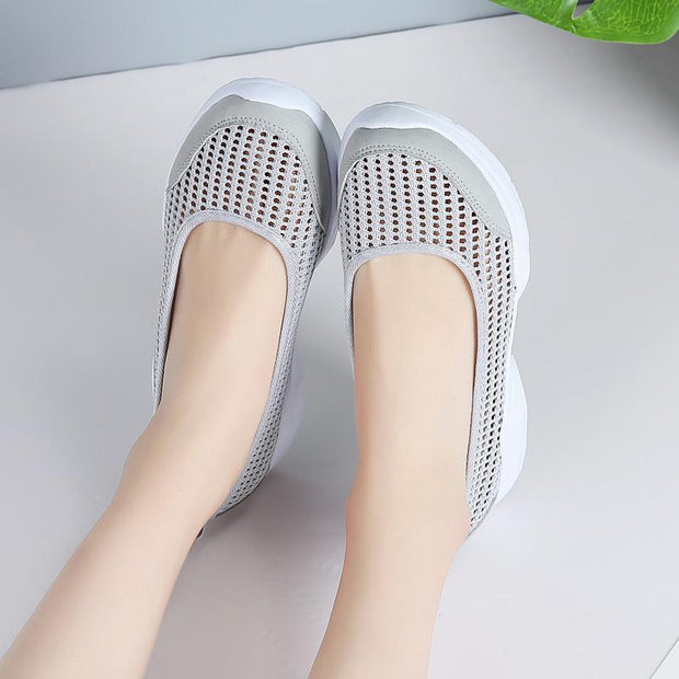 Women Flats Slip-on loafers Summers Sport Shoes Big size 35-42 129439