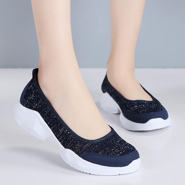 82e65225871 Flats Shoes- Women Soft Cloth Cloth Flats Shoes of Pearlzone