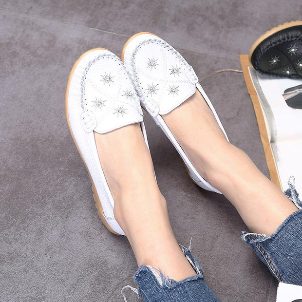 Women's fashion comfortable breathable casual shoes peas shoes 130229
