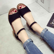 Women  Flats Comfortable Beach Sandals Casual Summer Shoes Fashion Footwear  131084