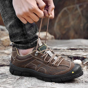 Head layer cowhide sneakers men casual shoes hiking shoes 132823