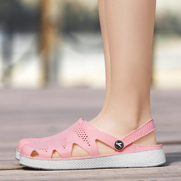 Women's Summers Slipper Casual Sandals Hole shoes 132664
