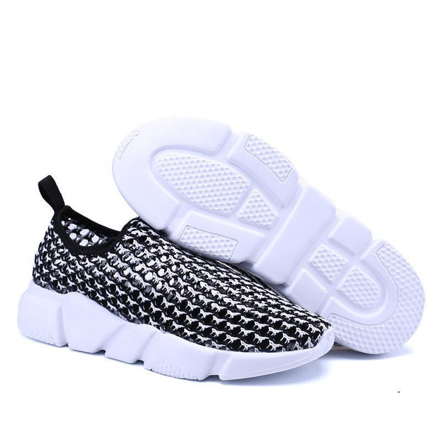 Women's Casual Sports Net Loafer Shoes 132666