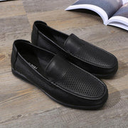 men's shoes wholesale explosions daddy toes first layer leather casual shoes