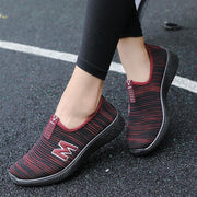 Women's Shoes Flying Woven Walking Shoes 134140