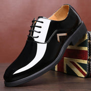 Men Microfiber Leather Non Slip Large Size Business Formal Shoes 133709