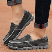 Men fashion wild trend casual shoes breathable comfortable canvas shoes 134010