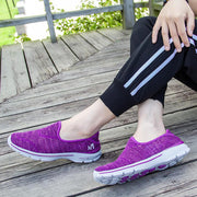 Women's Shoes Summer Hollow Breathable Lazy Shoes 134089