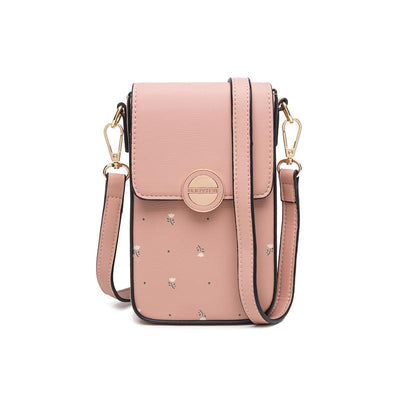 135742 Women's bag 2019 new fashion bag female Messenger bag leather bag wild shoulder bag