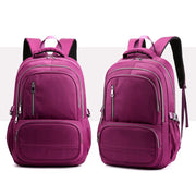 Men's & Women's Nylon Waterproof Large-Capacity Anti-Theft Laptop Backpack