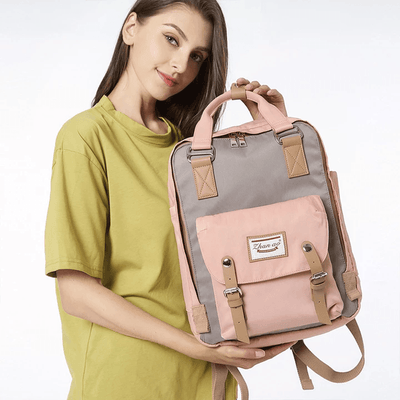 Women's Waterproof Vintage Travel Backpack