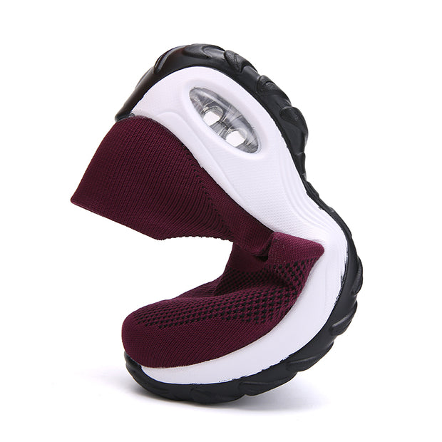 Womens Slip on Breathable Comfortable Casual Walking Shoe