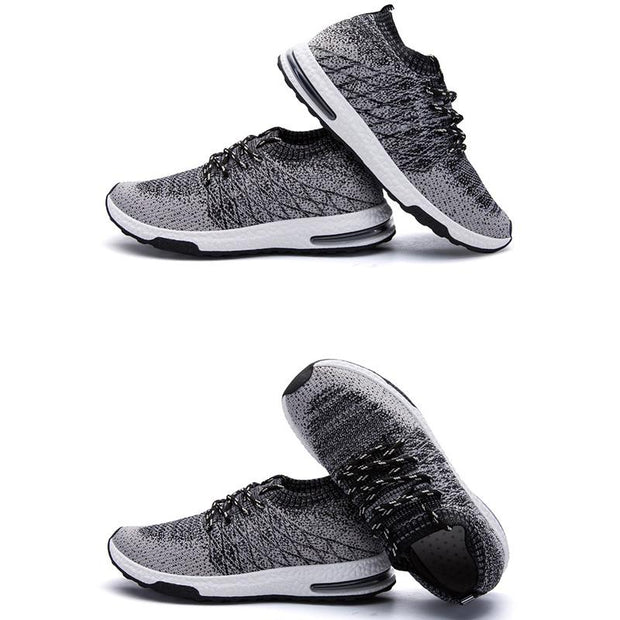 Men's Mesh Breathable Leisure Flying Woven Socks Shoes