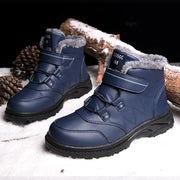 Ms Trekking Snow Boots Water Resistant Shoes Anti-Slip Fully Fur Lined Casual Lightweight Hiking Boots