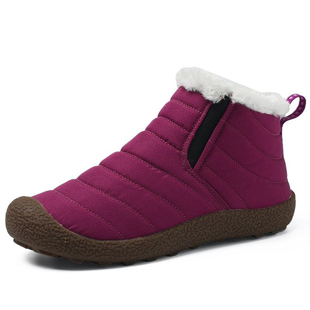 Women's  snow warm shoes non-skid resistant cotton shoes