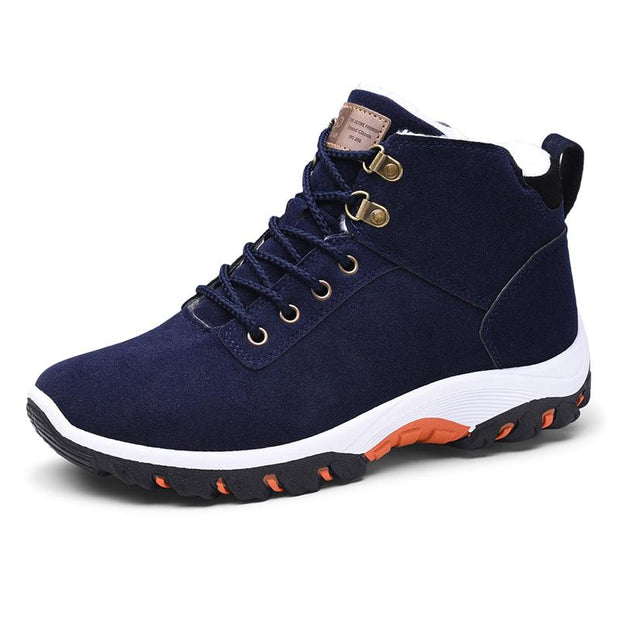 Men's woolen padded casual shoes warm fashion outdoor men's shoes high shoes