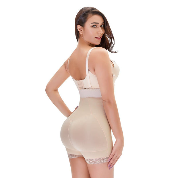 Women's Plus Size One-Piece Body Shaper Tummy Control Fashion Shapewear Butt Lifter Bodysuit