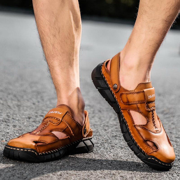 Men's Cow Leather Sandals