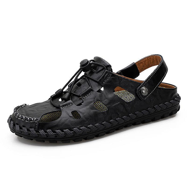 Men's  sandals men's tide leather beach shoes