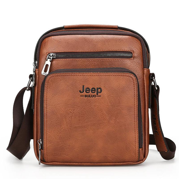 Men's Business Travel Formal Casual Jeep Messenger Bag