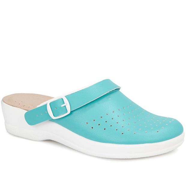 Women's Slip-On Work Mule Clog