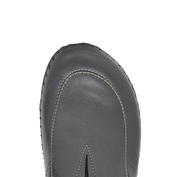 Women's Slip-On Leather Clog Mule