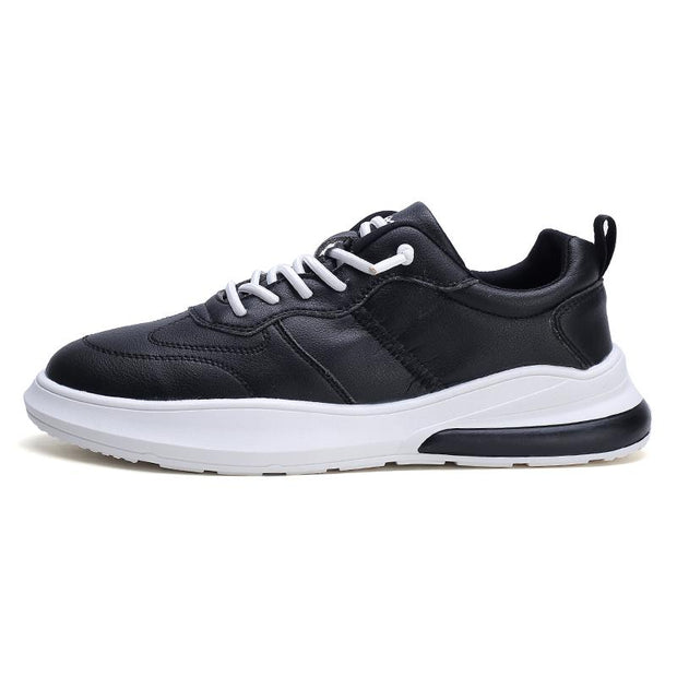 Men's Sneakers Leather Air Cushion Shoes Tide Rubber Sole