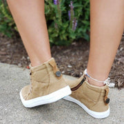 Women's Casual Daily High Top Stylish Flat Sneakers