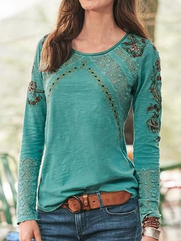 Women's Sweet Long Sleeve Tops