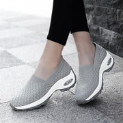 Women's Breathable Air Mesh Air Cushion Plus Size Comfort Casual Shoes