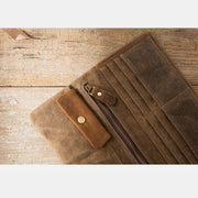 Genuine Leather Retro Handmade Wallet