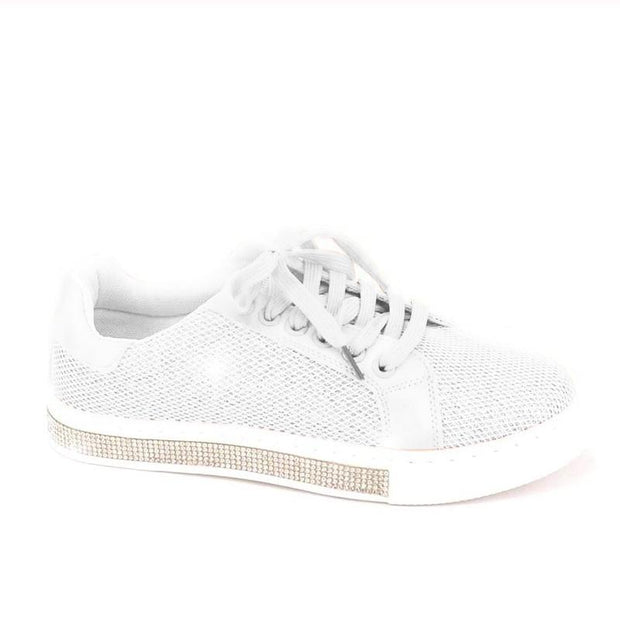 Women's Crystal Twinkle Trim Casual Shoes