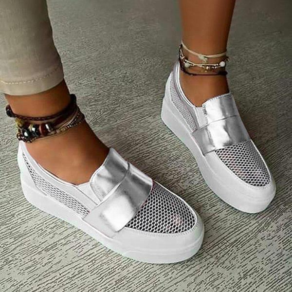 Women's Bestyleme Hollow Out Athletic Sneakers