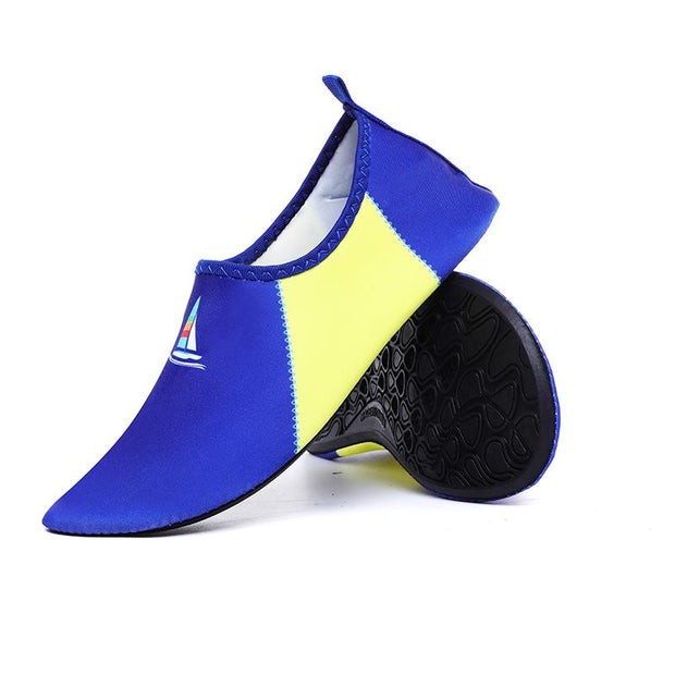 Men's Large Size Fabric Multifunctional Quick Drying Snorkeling Water Shoes