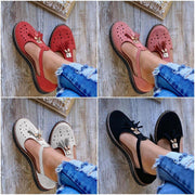 Women's Hollow-out Casual Suede Loafers