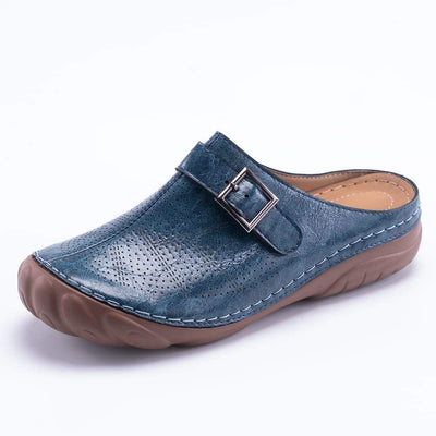 Women Clogs Closed Toe Slip on Lightweight Mule Slipper Wedge Sandal
