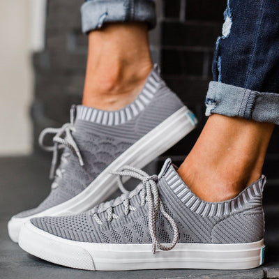 Women's  Athletic Shoes Casual Knit Sneakers