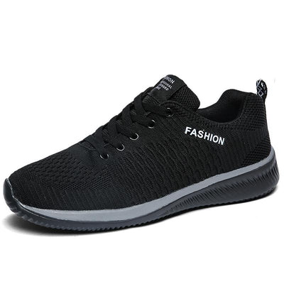 Men Casual Lac-up Lightweight Comfortable Breathable Walking Sneakers